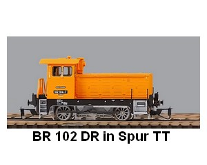 BR 102 DR in TT